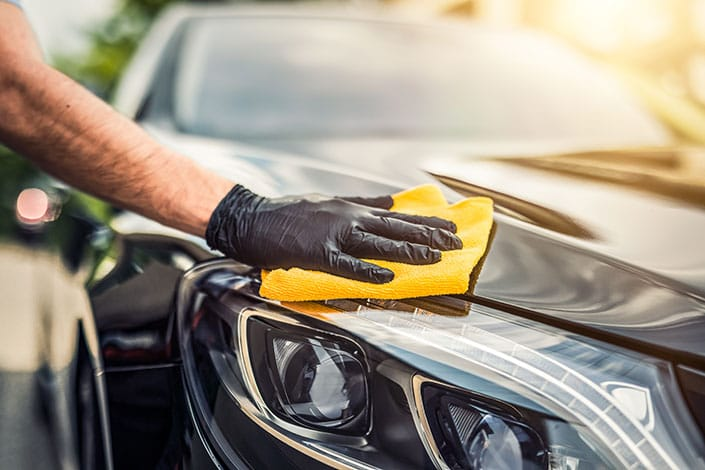 Hand polish by Detailing Adelaide