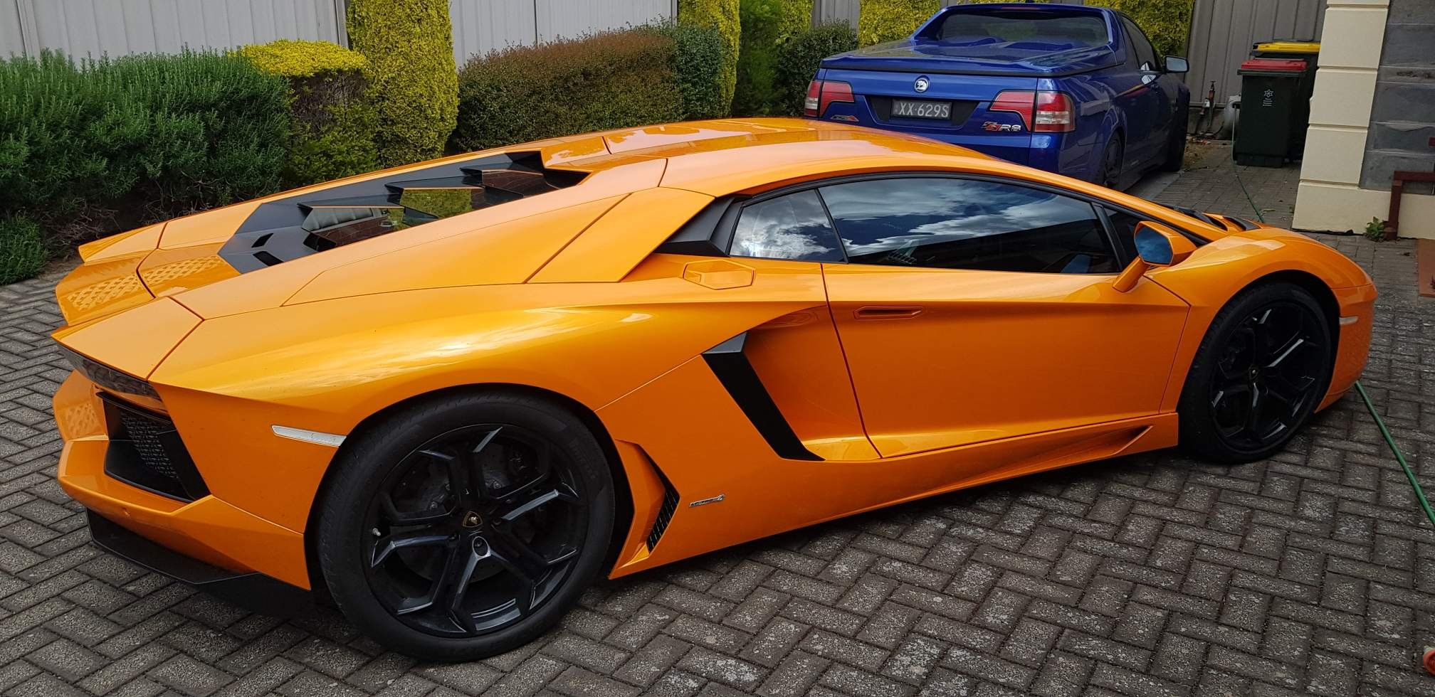 This is one of Detailing Adelaide favourite regular detailing jobs a bright orange fabulous Lamborghini - Gallery of cool detailing jobs