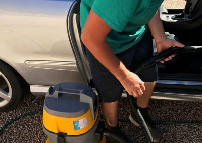 All Detailing Adelaide staff use a variety of carpet cleaning nozzles and attachments to enable them to vacuum every crevice