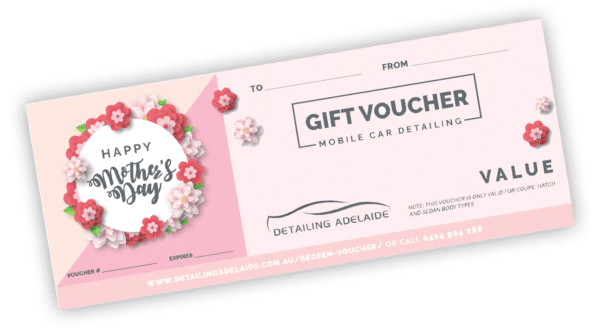 Mother's Day Gift Card by Detailing Adelaide