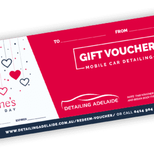 Valentine's Day Gift Card by Detailing Adelaide
