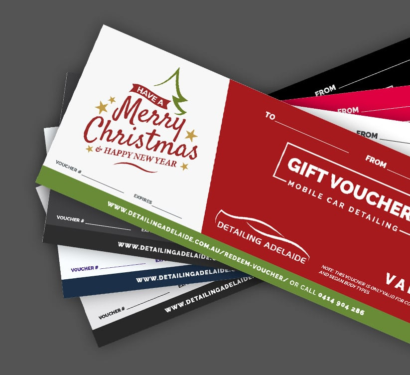 Detailing Adelaide offer gift vouchers for every occasion