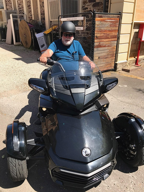 One of the more unusual vehicles we have detailed a super bike 2019 Spyder F3-ltd - Gallery of cool detailing jobs
