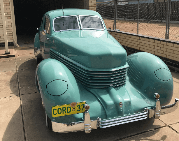 Car Detailing - We detailed a vintage Cord 37 in suburban Adelaide
